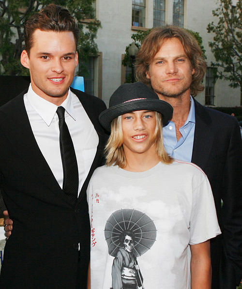 Austin Nichols, Greyson Fletcher and Brian Van Holt at the California premiere of