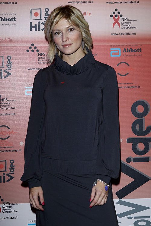 Chiara Conti at the HIVideo Spot 2010 Awards during the 5th Rome International Film Festival.