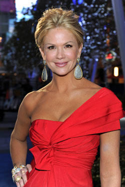 Nancy O'Dell at the 68th Annual Golden Globe Awards.