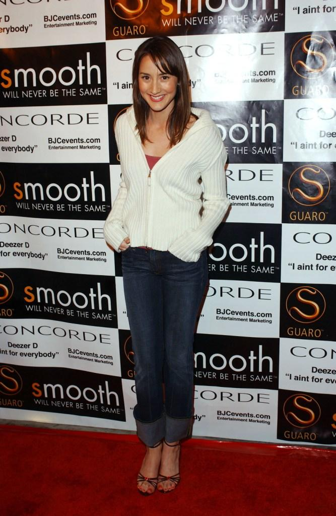 Bree Turner at the private listening party for Deezer D.'s album