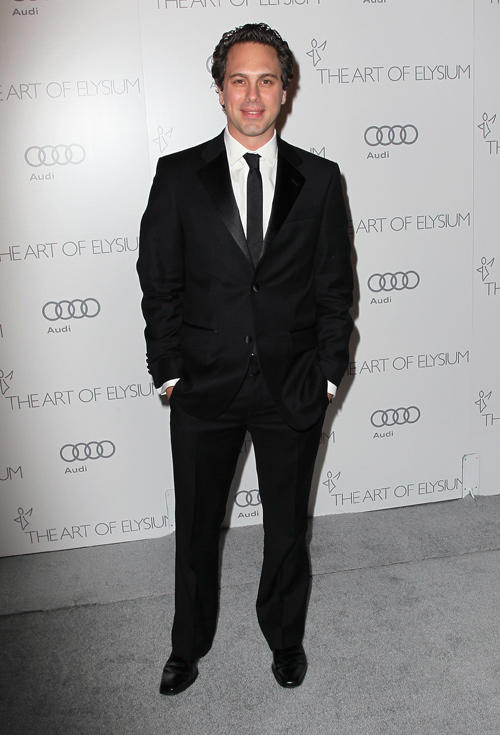 Tom Sadoski at the Art Of Elysium's 6th Annual Black-tie Gala