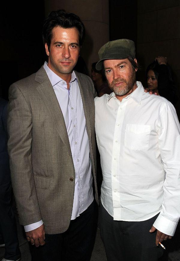 Troy Garity and Patrick Hoelck at the California premiere of