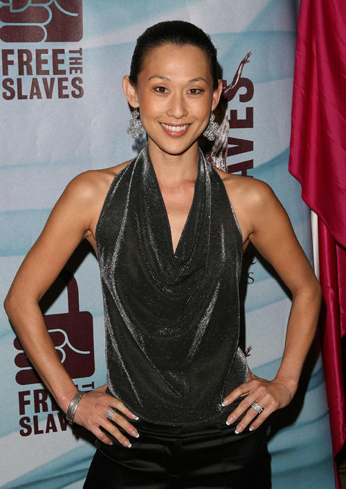 Nicole Bilderback at the 2010 Freedom Awards in California.