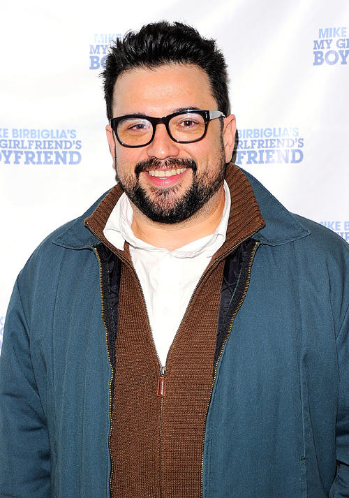 Horatio Sanz at the off-Broadway opening night of
