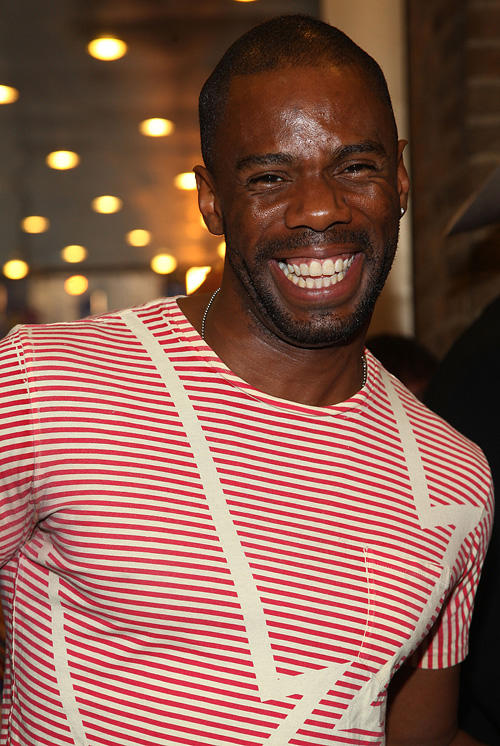 Colman Domingo at the Broadway opening night of