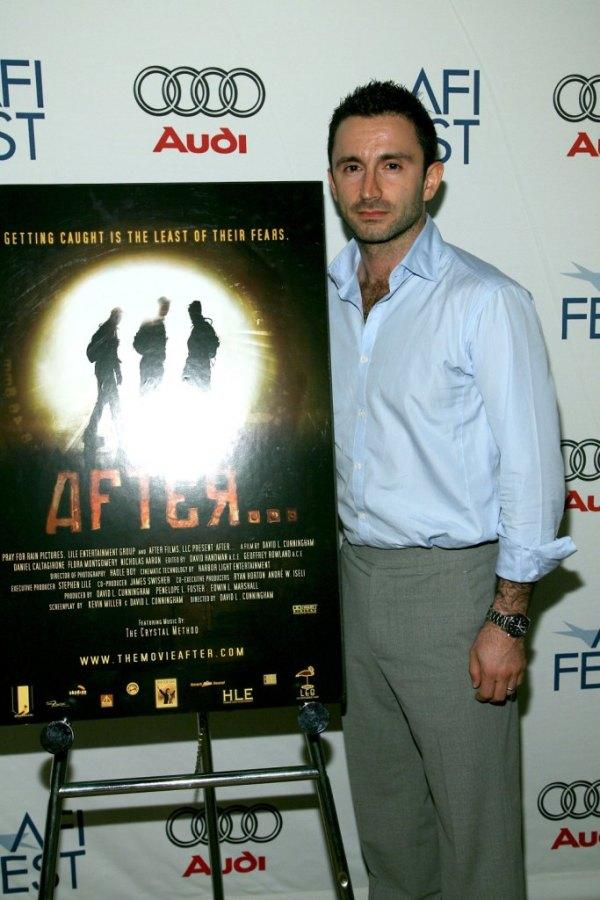 Daniel Caltagirone at the premiere of