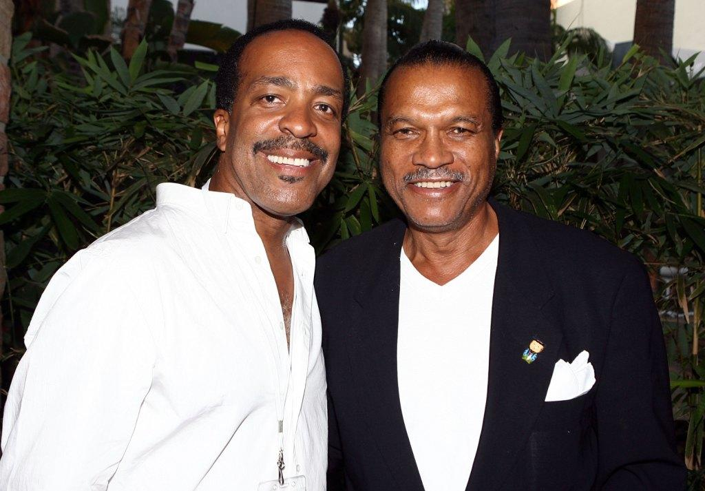 Robert Gossett and Billy Dee Williams at the celebration of
