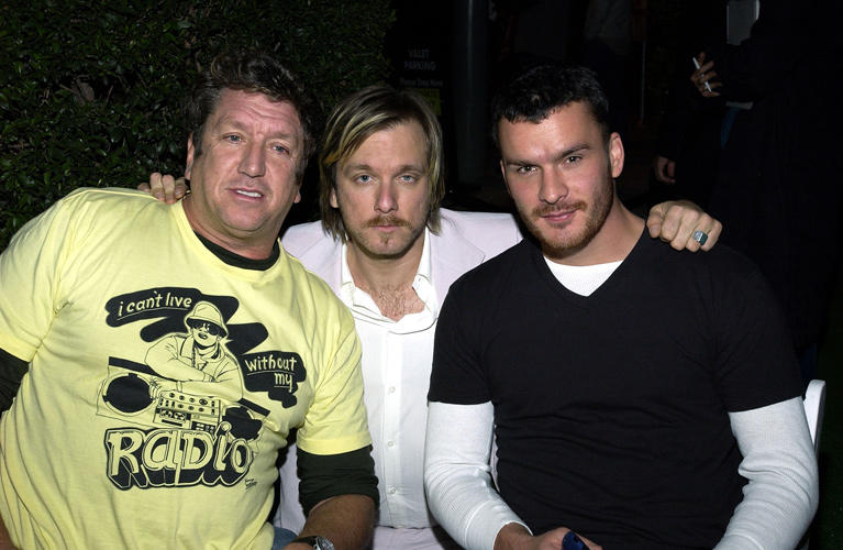 Steve Jones, Kelly Cole and Balthazar Getty at the