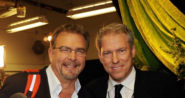 Bill Engvall and John Hamlin at the 2009 CMT Music Awards.
