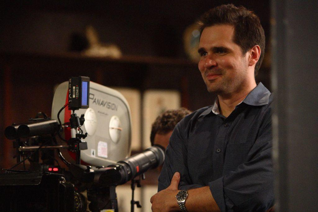 Director Sean McGinly on the set of