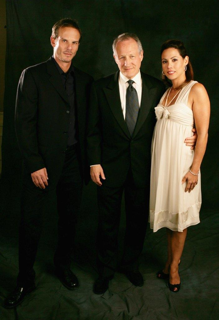 Peter Berg, Michael Mann and Elizabeth Rodriguez at the 14th Annual Diversity Awards Gala.