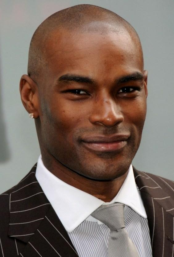 Tyson Beckford at the NBC Experience store to promote his reality TV series