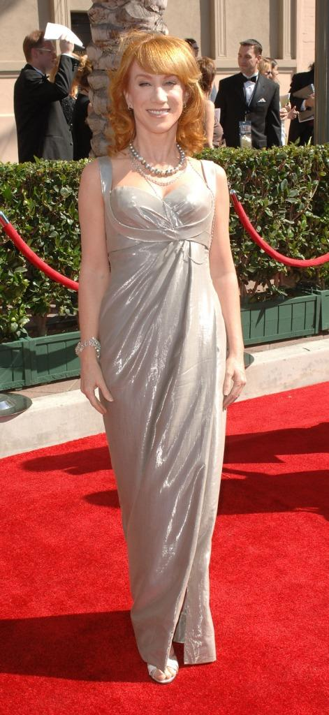 Kathy Griffin at the 2007 Primetime Creative Arts Emmy Awards.