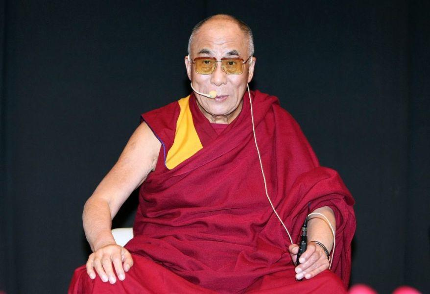 The Dalai Lama (XIV) at the lecture