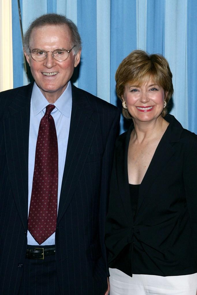 Charles Grodin and Jane Pauley at the 2008 Children's Health Fund Annual Gala.