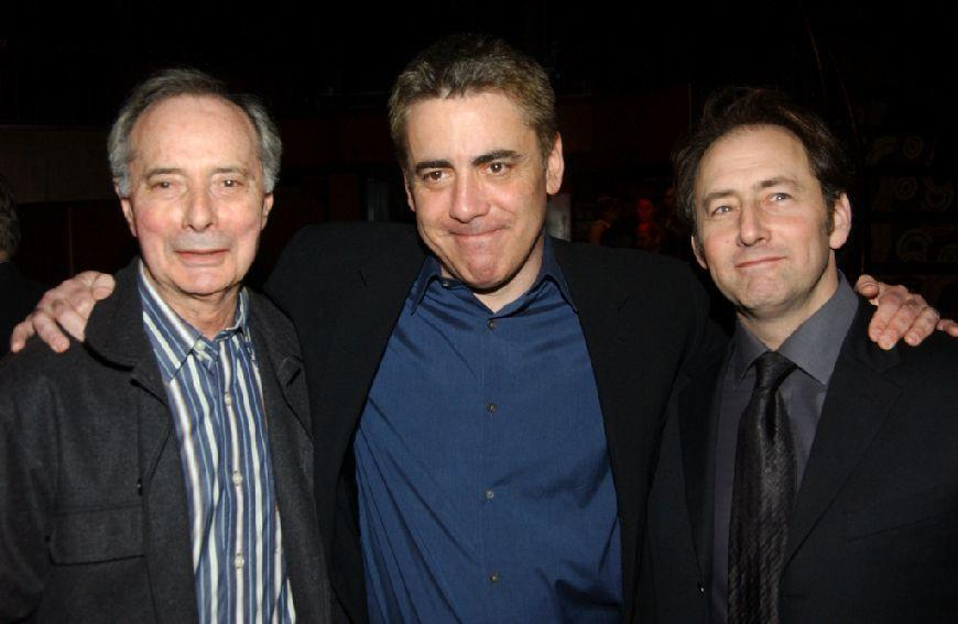 Alan Miller, Adam Arkin and Arye Gross at the after party of the opening of