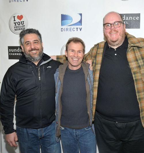 Director Glenn Ficarra, producer Andrew Lazar and John Requa at the premiere of