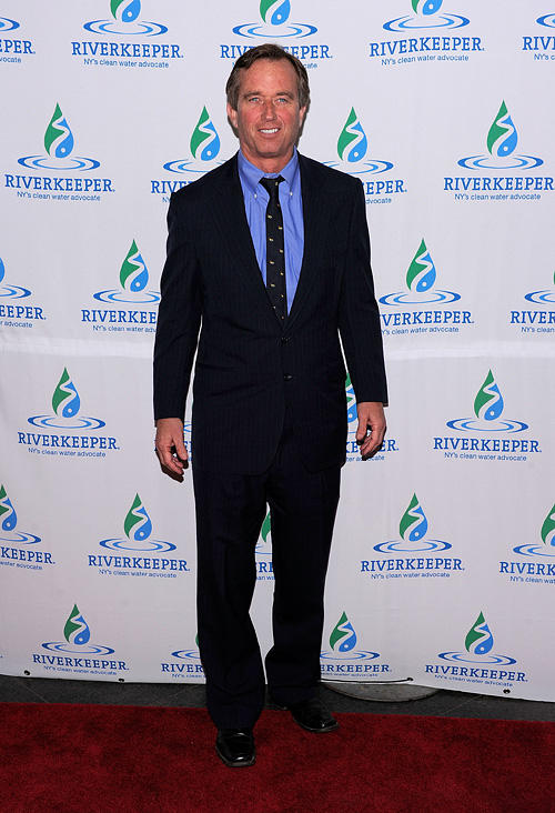 Robert F. Kennedy Jr. at the 2010 Riverkeeper Benefit at Pier Sixty in New York.