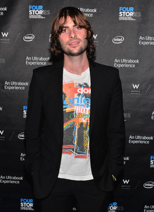 Robert Schwartzman at the after party of the California premiere of