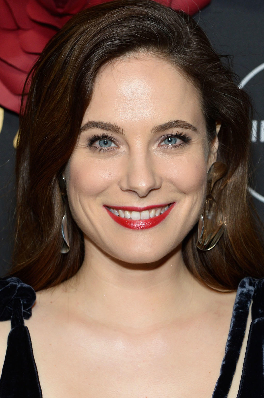 Caroline Dhavernas at Lifetime's Anti-Valentine's Bash in West Hollywood, California.