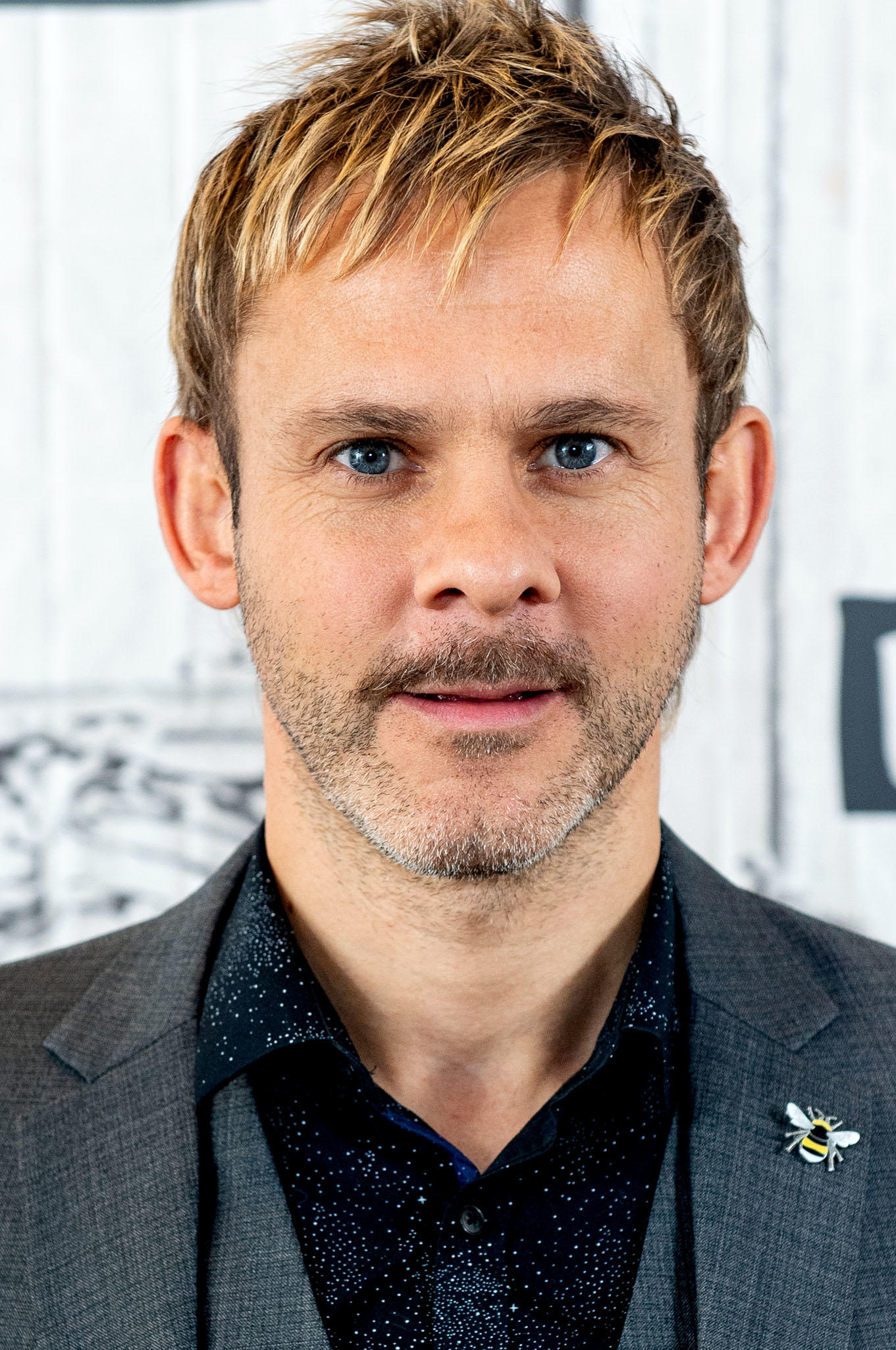 Dominic Monaghan at Build Studio in New York City.
