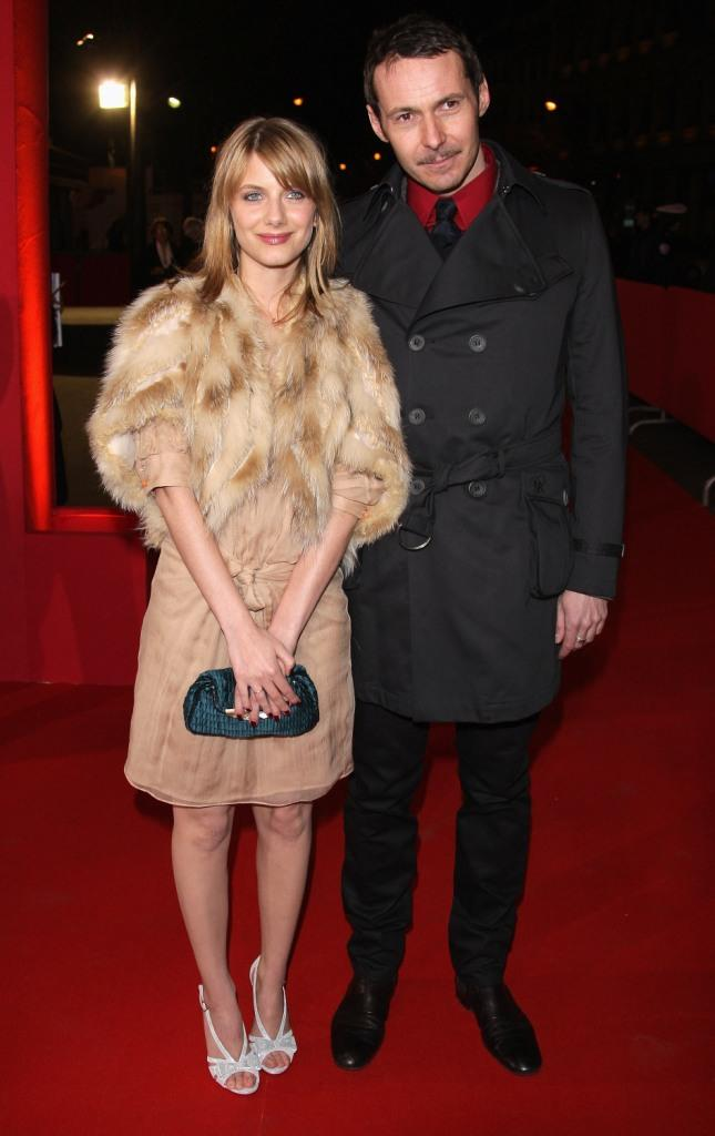 Melanie Laurent and Julien Boisselier at the Cesar Film Awards 2008.
