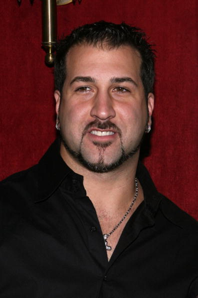 Joey Fatone at the N.Y. premiere of