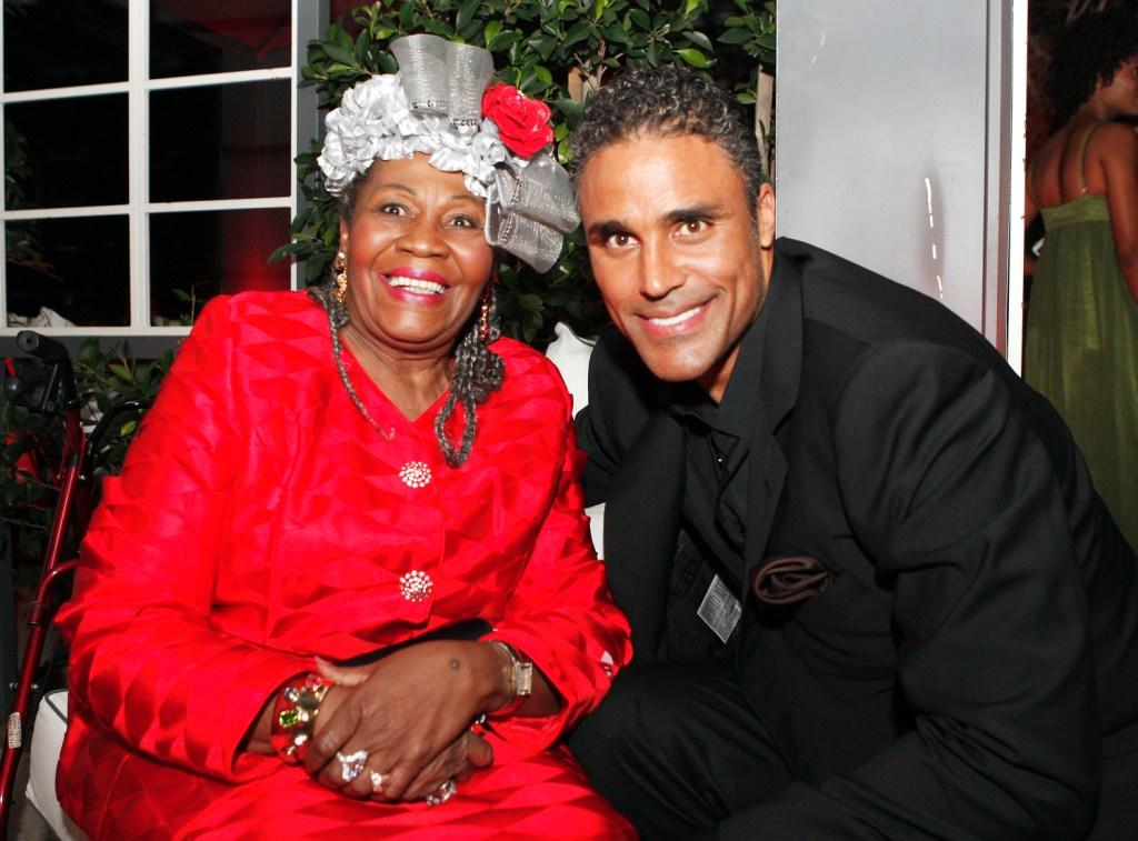 Irma P. Hall and Rick Fox at the after party of the premiere of