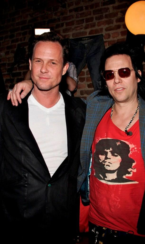 Dean Winters and Michael H at the launch of