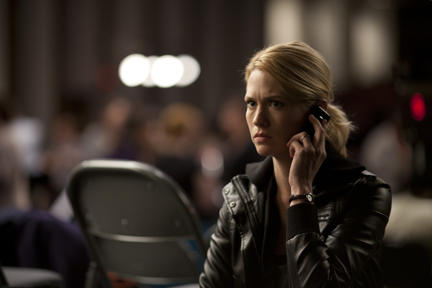 January Jones as Laura Gerard in ``Seeking Justice.''
