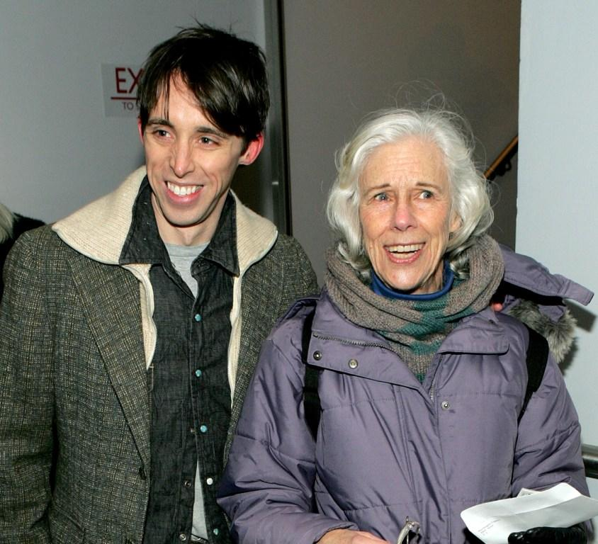 Kevin Cahoon and Frances Sternhagen at the opening night of