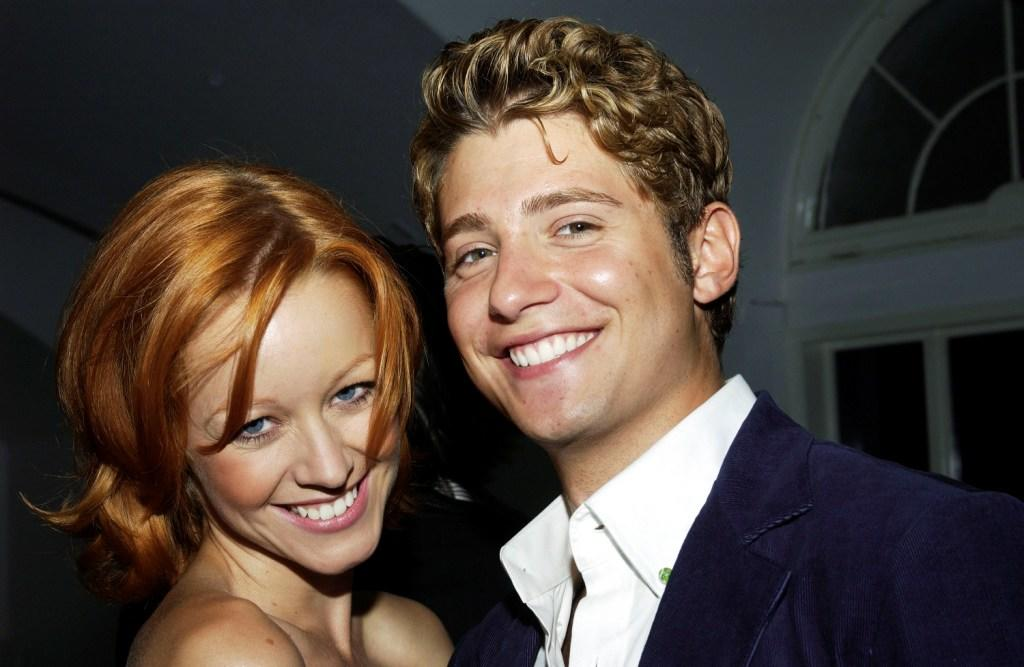 Lindy Booth and Julian Morris at the after party of the premiere of