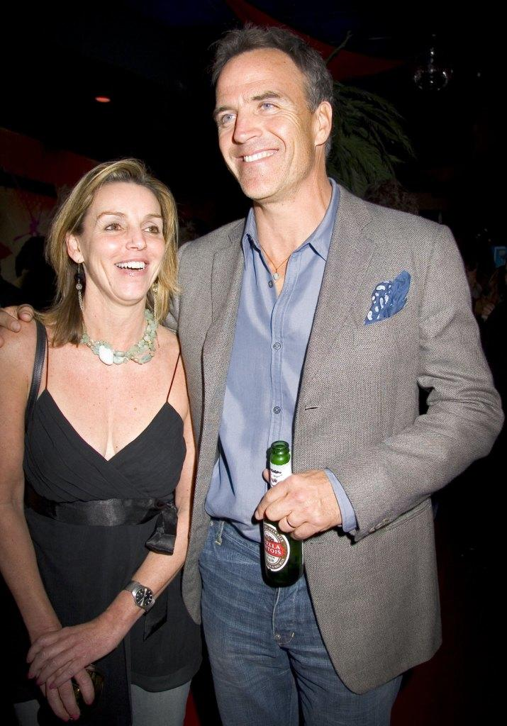 Laurie Kirby and Richard Burgi at the 2006 Newport International Film Festival.