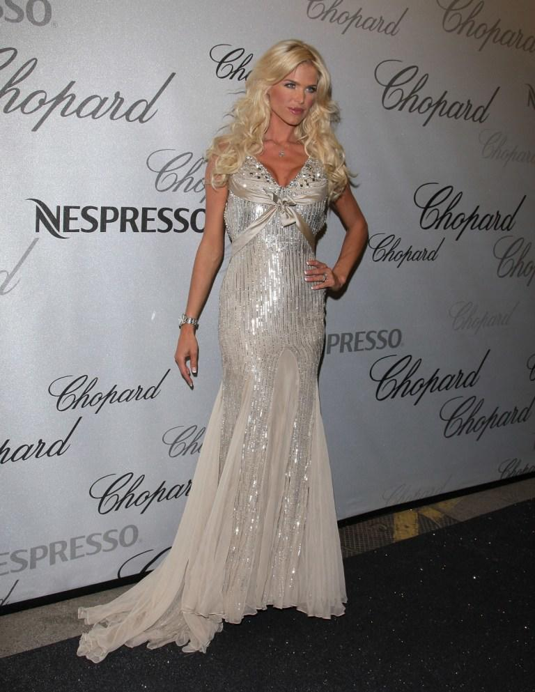 Victoria Silvstedt at the Chopard Trophy Award during the 61st International Cannes Film Festival.
