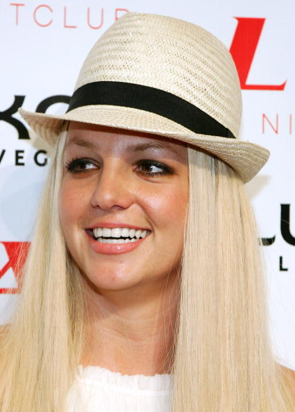 Britney Spears at the grand opening of the LAX Nightclub at the Luxor Resort & Casino in Las Vegas.