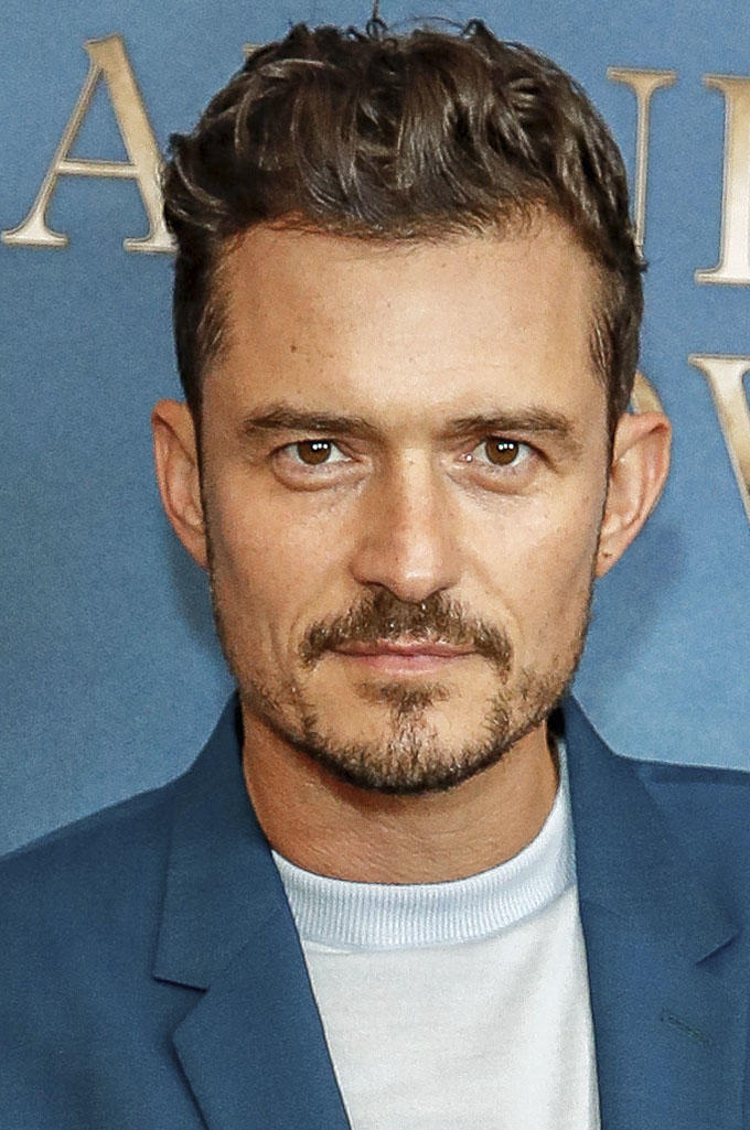 Orlando Bloom at the London premiere of