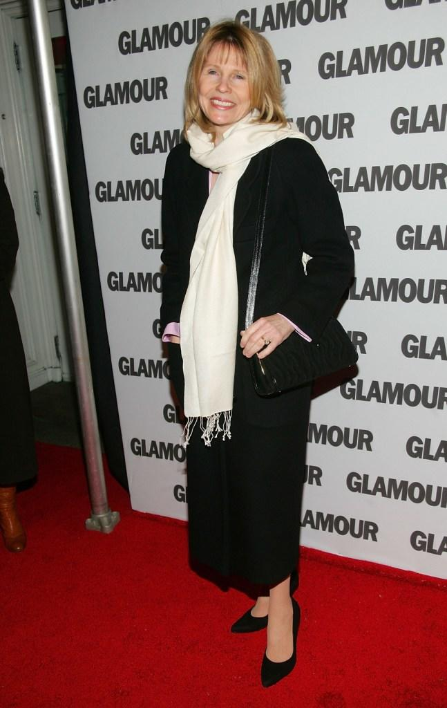 Donna Hanover at the party of Glamour Magazine's first-ever Hero Issue.