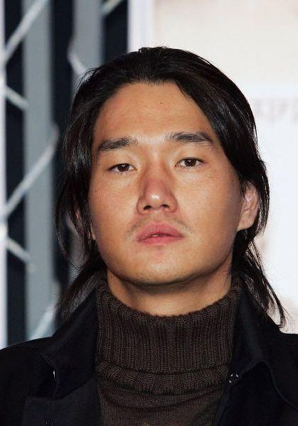 Yu Ji-tae at the Pusan International Film Festival 2006.