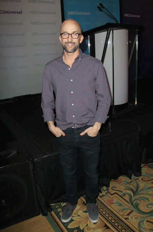 Jim Rash at the NBCUniversal Summer Press Day in California.
