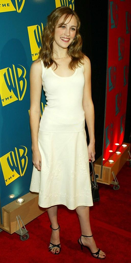 Sarah Thompson at the WB Networks 2004 All Star Winter Party.