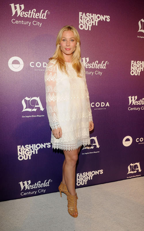 Stefanie von Pfetten at the Westfield Century City Celebrates Fashion's Night Out in California.