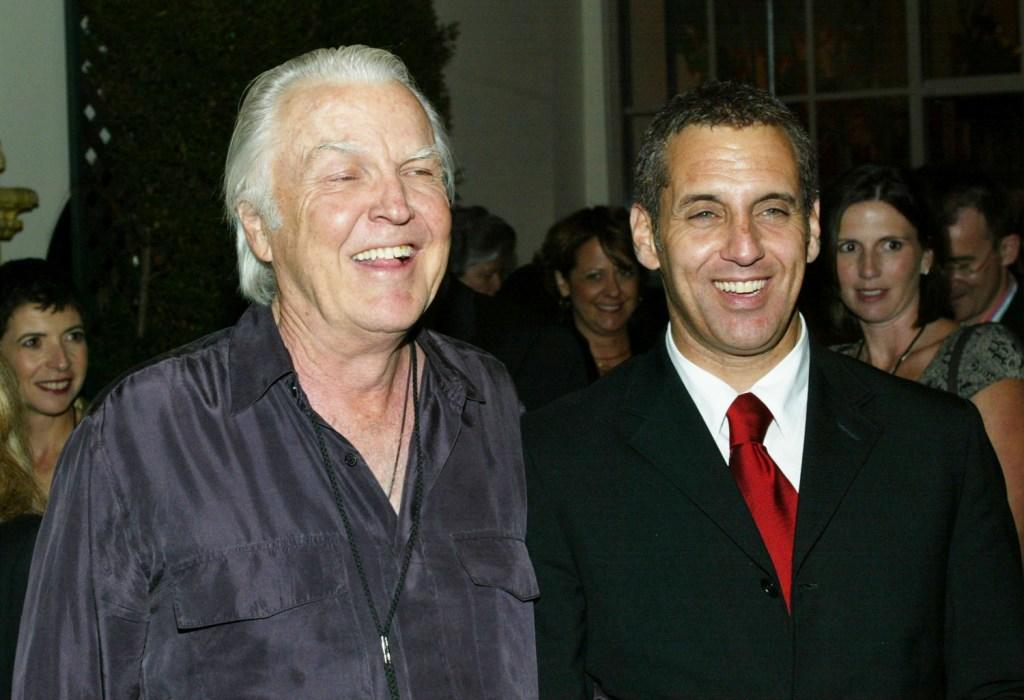Anthony Zerbe and Vincent Riotta at the after party of the premiere of