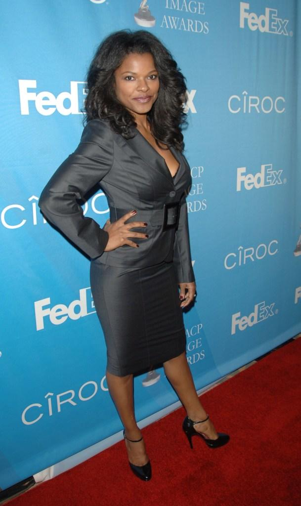 Keesha Sharp at the 38th NAACP Image Awards nominees luncheon.
