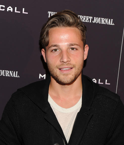 Shawn Pyfrom at the New York premiere of