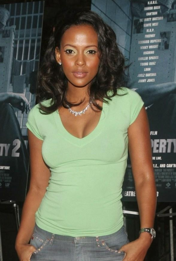 Sundy Carter at the premiere of