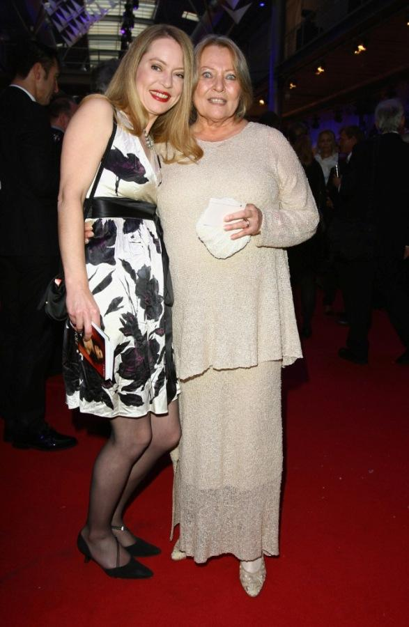 Therese Baal and Karin Baal at the German TV Award 2008.