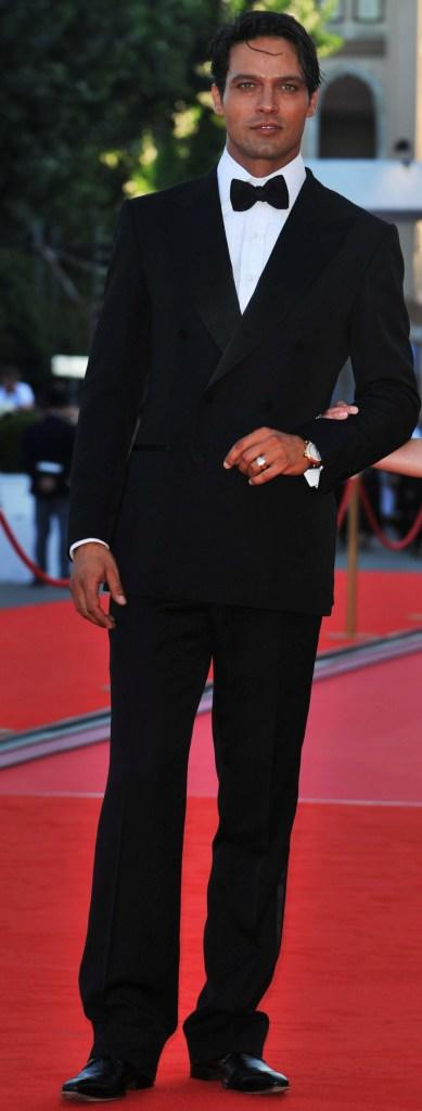 Gabriel Garko at the opening ceremony and premiere of
