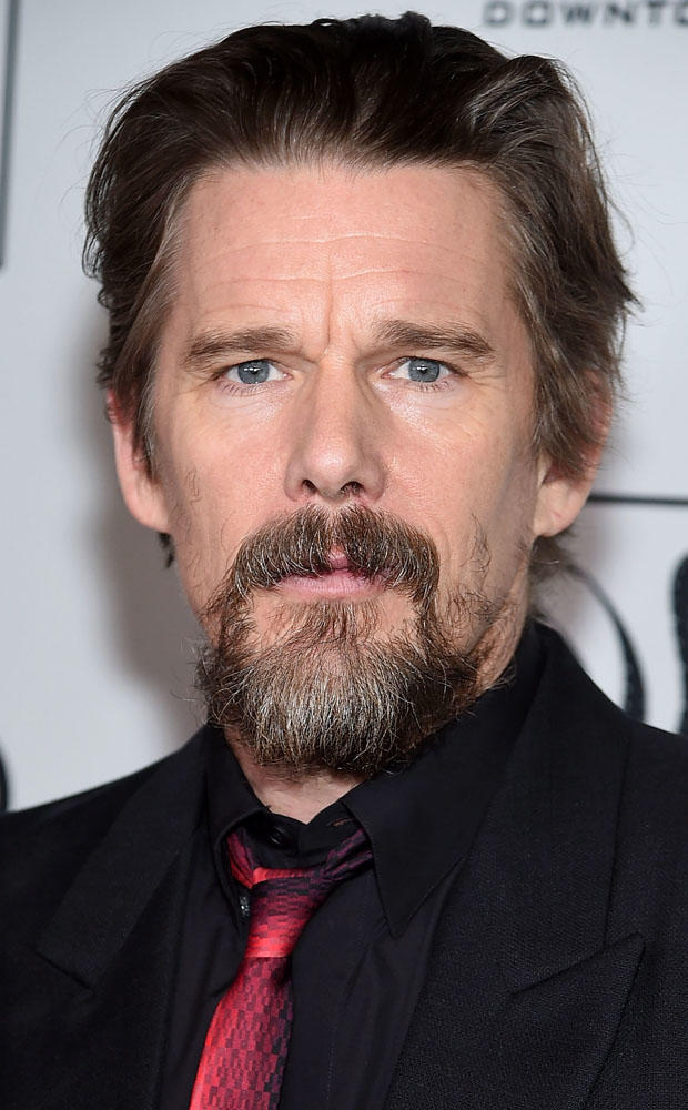Ethan Hawke at the 2018 New York Film Critics Circle Awards.