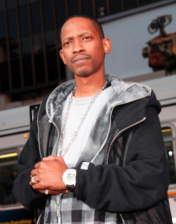 Kurupt at the premiere of