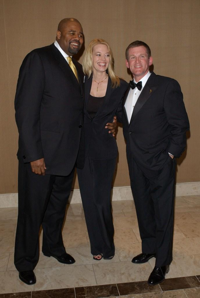 Chi McBride, Jeri Ryan and Anthony Heald at the 23rd Annual College Television Awards.